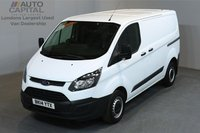 USED 2014 14 FORD TRANSIT CUSTOM 2.2 270 99 BHP L1 H1 SWB LOW ROOF ONE OWNER FROM NEW, SERVICE HISTORY