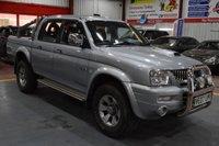 2007 MITSUBISHI L200 2.5 4WD TROJAN LWB DCB 1d 114 BHP £5000.00