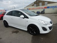 2011 VAUXHALL CORSA 1.2 LIMITED EDITION 3d 83 BHP £5995.00