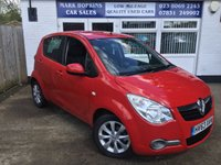 USED 2013 63 VAUXHALL AGILA 1.2 SE 5d AUTO 93 BHP 26K FSH 1 LOCAL FAMILY OWNER AIR/CON PARK SENSORS EXCELLENT CONDITION