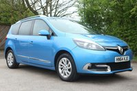 2014 RENAULT GRAND SCENIC 1.5 DYNAMIQUE TOMTOM ENERGY DCI S/S 5d 110 BHP £8990.00
