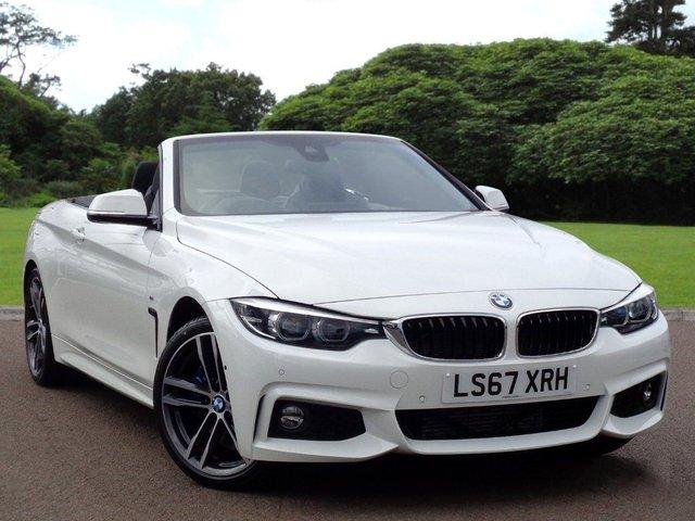 View our 2017 67 BMW 4 SERIES 3.0 430D M SPORT 2d AUTO 255 BHP