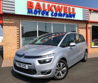 2015 CITROEN C4 GRAND PICASSO 1.6 E-HDI SELECTION 5d 113 BHP £10499.00