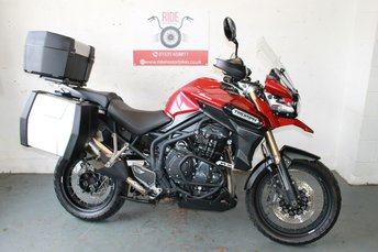 View our TRIUMPH TIGER EXPLORER XC