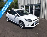 USED 2013 63 FORD FOCUS 1.6 TDCI TITANIUM NAVIGATOR 115 BHP THIS VEHICLE IS AT SITE 1 - TO VIEW CALL US ON 01903 892224