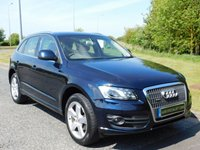 USED 2011 11 AUDI Q5 2.0 TDI QUATTRO SE 5d AUTO 170 BHP HEATED LEATHER, DAB RADIO, SAT NAV