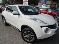 2013 NISSAN JUKE 1.6 TEKNA 5d AUTO 117 BHP £9500.00