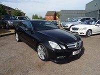 2011 MERCEDES-BENZ E CLASS 2.1 E220 CDI BLUEEFFICIENCY SPORT 2d AUTO 170 BHP £10890.00