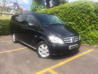 USED 2014 14 MERCEDES-BENZ VITO 2.1 116 CDI DUALINER AUTO LWB Automatic, One Owner, Air Conditioning