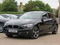 2014 BMW 1 SERIES 1.6 116I SPORT 5d AUTO 135 BHP £13000.00