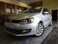 USED 2010 10 VOLKSWAGEN POLO 1.6 SEL TDI 5d 89 BHP