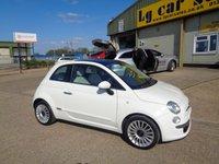 2011 FIAT 500 1.2 LOUNGE 3d 69 BHP £5395.00