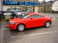 USED 2004 54 AUDI TT 1.8 T 3d 177 BHP ONLY 69000 MILES,FULL SERVICE HISTORY
