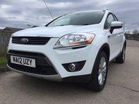 2012 FORD KUGA 2.0 TITANIUM TDCI AWD 5d 163 BHP £9990.00