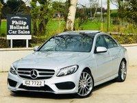 2015 MERCEDES-BENZ C CLASS 2.1 C220 BLUETEC AMG LINE PREMIUM + 4d AUTO 170 BHP £21495.00