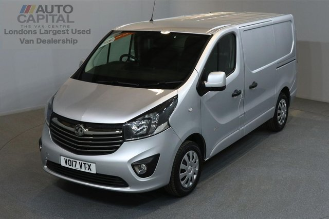 2017 17 VAUXHALL VIVARO 1.6 2900 SPORTIVE 120 BHP SWB LOW ROOF A/C E6  ONE OWNER FROM NEW, MANUFACTURE WARRANTY UNTIL 18/07/2020