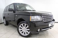 USED 2010 10 LAND ROVER RANGE ROVER 3.6 TDV8 AUTOBIOGRAPHY 5DR AUTOMATIC 271 BHP SERVICE HISTORY + HEATED/COOLED FRONT/REAR LEATHER SEATS + SUNROOF + REAR ENTERTAINMENT CENTER + SAT NAVIGATION + HEATED STEERING WHEEL + BLUETOOTH + CRUISE CONTROL + MULTI FUNCTION WHEEL + CLIMATE CONTROL + 20 INCH ALLOY WHEELS