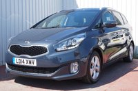 USED 2014 14 KIA CARENS 1.7 2 ECODYNAMICS CRDI 5d 114 BHP DEALER FULL SERVICE HISTORY