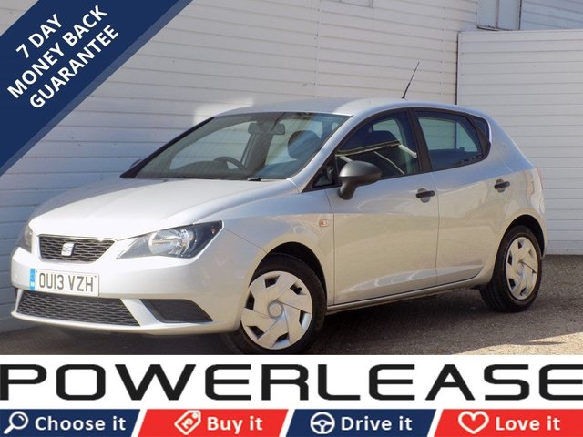 USED 2013 13 SEAT IBIZA 1.2 S A/C 5d 69 BHP 1 OWNER FULL SEAT SERVICE HIST