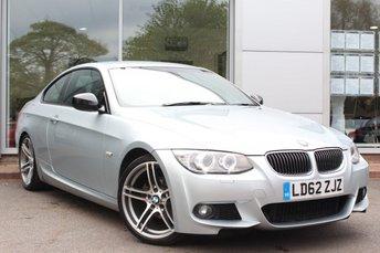 2012 BMW 3 SERIES 2.0 318I SPORT PLUS EDITION 2d 141 BHP £11250.00