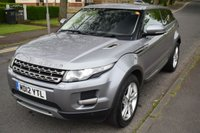 "USED 2012 12 LAND ROVER RANGE ROVER EVOQUE 2.2 SD4 PURE TECH 3d AUTO 190 BHP SERVICE HISTORY, HEATED LEATHER SEATS, DIGITAL RADIO, 19"" ALLOYS, REAR PRIVACY GLASS"