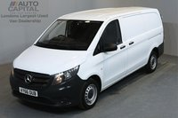 USED 2016 66 MERCEDES-BENZ VITO 1.6 109 CDI 88 BHP LWB MANUFACTURER WARRANTY UNTIL 29/09/2019