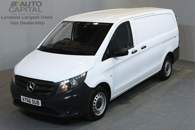 2016 66 MERCEDES-BENZ VITO 1.6 109 CDI 88 BHP LWB MANUFACTURER WARRANTY UNTIL 29/09/2019