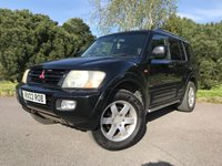 USED 2002 02 MITSUBISHI SHOGUN 3.5 ANIMAL ELEGANCE V6 GDI LWB 5d AUTO 200 BHP 7 SEATS LOCAL CAR TAKEN IN P/X BY US AUTOMATIC 7 SEATS LEATHER LONG MOT