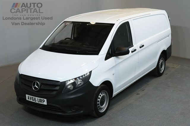 2016 66 MERCEDES-BENZ VITO 1.6 111 CDI 114 BHP LWB MANUFACTURER WARRANTY UNTIL 28/12/2019
