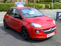 USED 2014 64 VAUXHALL ADAM 1.2 JAM 3d 69 BHP FINANCE AVAILABLE EVEN IF YOU HAVE POOR CREDIT.