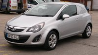 2013 VAUXHALL CORSA 1.3 SPORTIVE CDTI / EURO5 1 OWNER F/S/H 2 KEYS LOW MILES \ FREE 12 MONTHS WARRANTY COVER \ £4990.00