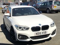 USED 2015 15 BMW 1 SERIES 1.6 118I M SPORT 5d 134 BHP *M SPORT PLUS, DAB, LEATHER*