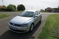 USED 2013 63 VOLKSWAGEN JETTA 1.6 LTD EDITION TDI BLUEMOTION TECHNOLOGY,Alloys,Air Con,Cruise 1 Owner,Sat Nav,DAB,Cruise Control,F.S.H