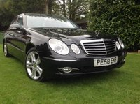 2008 MERCEDES-BENZ E CLASS 3.0 E280 AVANTGARDE 4d AUTO 228 BHP £SOLD