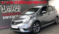 2014 NISSAN NOTE 1.2 TEKNA STYLE DIG-S 5d 98 BHP £8695.00