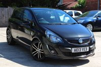 USED 2013 13 VAUXHALL CORSA 1.4 BLACK EDITION 5d 118 BHP **** ONE OWNER FROM NEW ****
