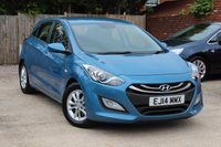 USED 2014 14 HYUNDAI I30 1.4 ACTIVE 5d 98 BHP **** BLUETOOTH * AIR CON * PARKING SENSORS ( REAR ) ****