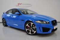 USED 2014 14 JAGUAR XF 5.0 V8 R-S 4d AUTO 542 BHP XFRS CARBON INTERIOR RECENT TYRES AND JAG SERVICE