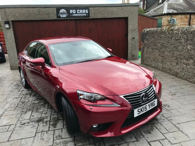 2015 LEXUS IS 2.5 300H EXECUTIVE EDITION 4d AUTO 179 BHP