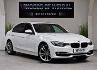 2014 BMW 3 SERIES 2.0 320D SPORT 4d AUTO 184 BHP £13980.00