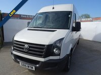 2015 VOLKSWAGEN CRAFTER 2.0 CR 35 TDI LONG WHEEL BASE 161 BHP  £13995.00