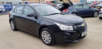 USED 2013 13 CHEVROLET CRUZE 1.6 LS 5d 122 BHP Full Service History | Finance Available Please Call 01733 891250
