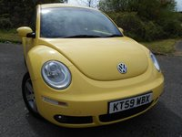 2009 VOLKSWAGEN BEETLE 1.6 LUNA 8V 3d 101 BHP ** 1 PREVIOUS OWNER , YES ONLY 51K ** £4795.00