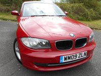 2009 BMW 1 SERIES 2.0 118D SPORT 5d 141 BHP ** DIESEL, £30 ROAD TAX ,SUPERB VEHICLE  ** £5495.00