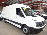 2014 VOLKSWAGEN CRAFTER 2.0 CR35 TDI H/R P/V 136 BHP-ONE OWNER-SERVICE HISTORY £9795.00