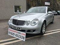 2008 MERCEDES-BENZ E CLASS 2.1 E220 CDI EXECUTIVE 4d AUTO 170 BHP £SOLD