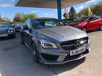 USED 2015 65 MERCEDES-BENZ CLA 2.0 CLA250 4MATIC ENGINEERED BY AMG 4d AUTO 211 BHP NEED FINANCE? WE STRIVE FOR 94% ACCEPTANCE