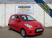 USED 2009 59 HYUNDAI I10 1.1 ES 5d 65 BHP Service History AirCon £30 Tax 0% Deposit Finance Available