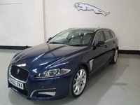USED 2012 H JAGUAR XF 3.0 D V6 S PORTFOLIO SPORTBRAKE 5d 275 BHP 1 Previous Owner/Jag History/ 20In Alloys/ Heated Seats