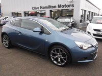 USED 2015 VAUXHALL ASTRA GTC 1.6 SRI CDTI CRUISE & 1/2 LEATHER